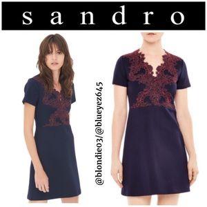 "Sandro ""Margo"" dress 3 (US L)"